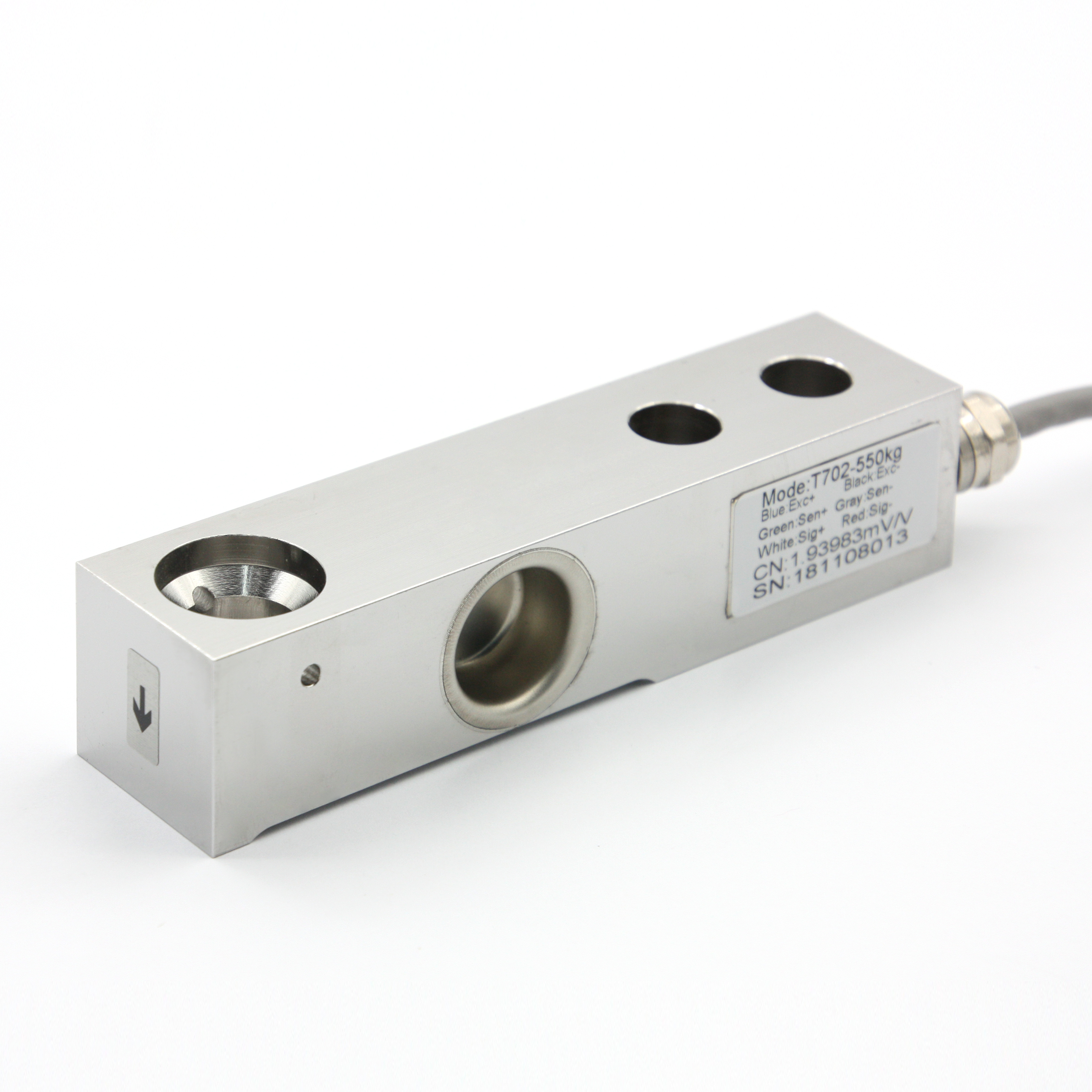 T702 COMPRESSION LOAD CELL / BEAM TYPE / STAINLESS STEEL / DIGITAL