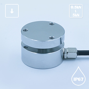 R403 Flat Compression Column Force Sensor